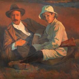 El autor y su hijo