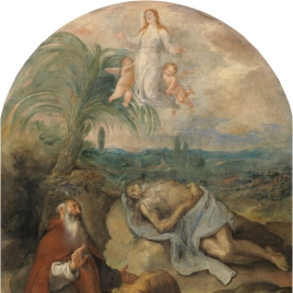 The Death of Saint Paul the Hermit