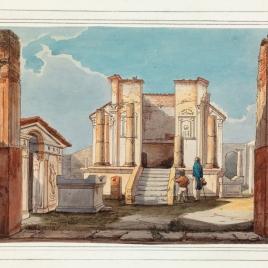 Templo de Isis en Pompeya
