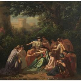 Florinda, hija del conde don Julián, llamada la Cava