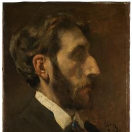 El pintor Enrique Mélida