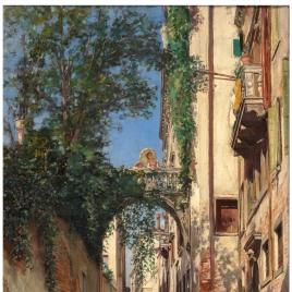 Canal degli Albrizzi. Venecia