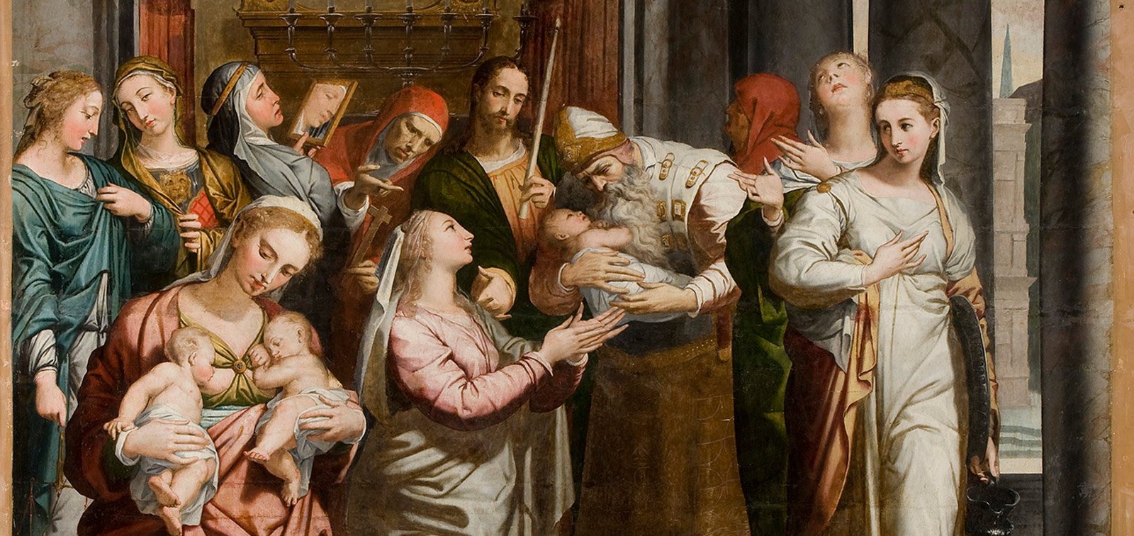 The Purification of the Virgin in the Temple by Pedro de Campaña