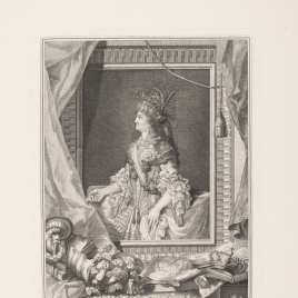 La reina María Luisa de Borbón