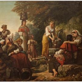 La fuente, cuadro de costumbres de las cercanías de Santiago de Galicia