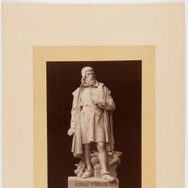 Modelo de estatua a Alonso Berruguete