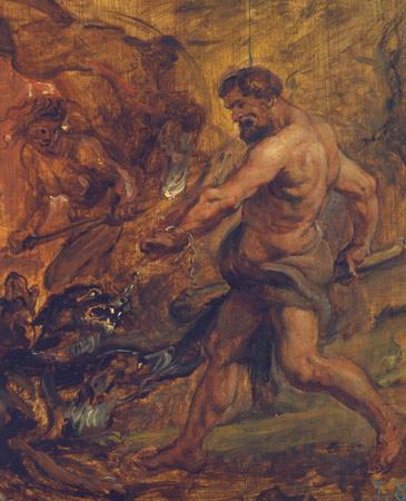 Rubens, pintor de bocetos