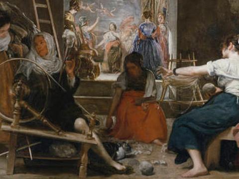 <em>Las hilanderas o la fábula de Aracne</em>, Diego Rodríguez de Silva y Velázquez, comentada por Fernando Zóbel