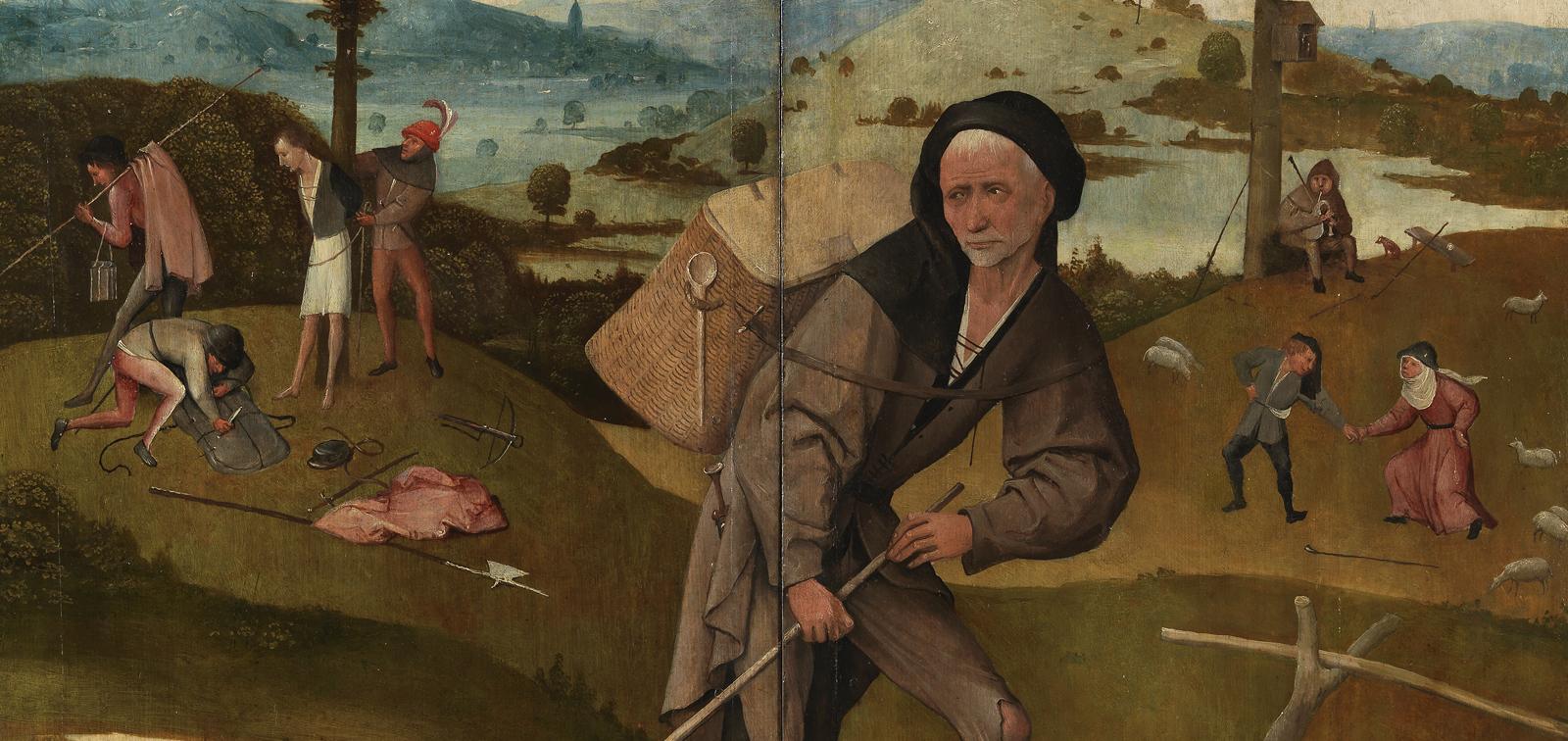 Los trípticos cerrados del Museo del Prado. De grisalla a color