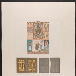 Miniatura y díptico de la Catedral y Cámara Santa de Oviedo