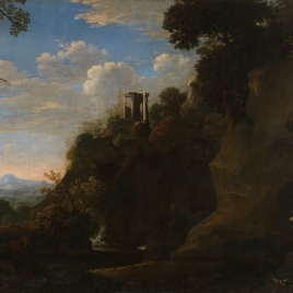 Landscape with Saint Francis in Meditation