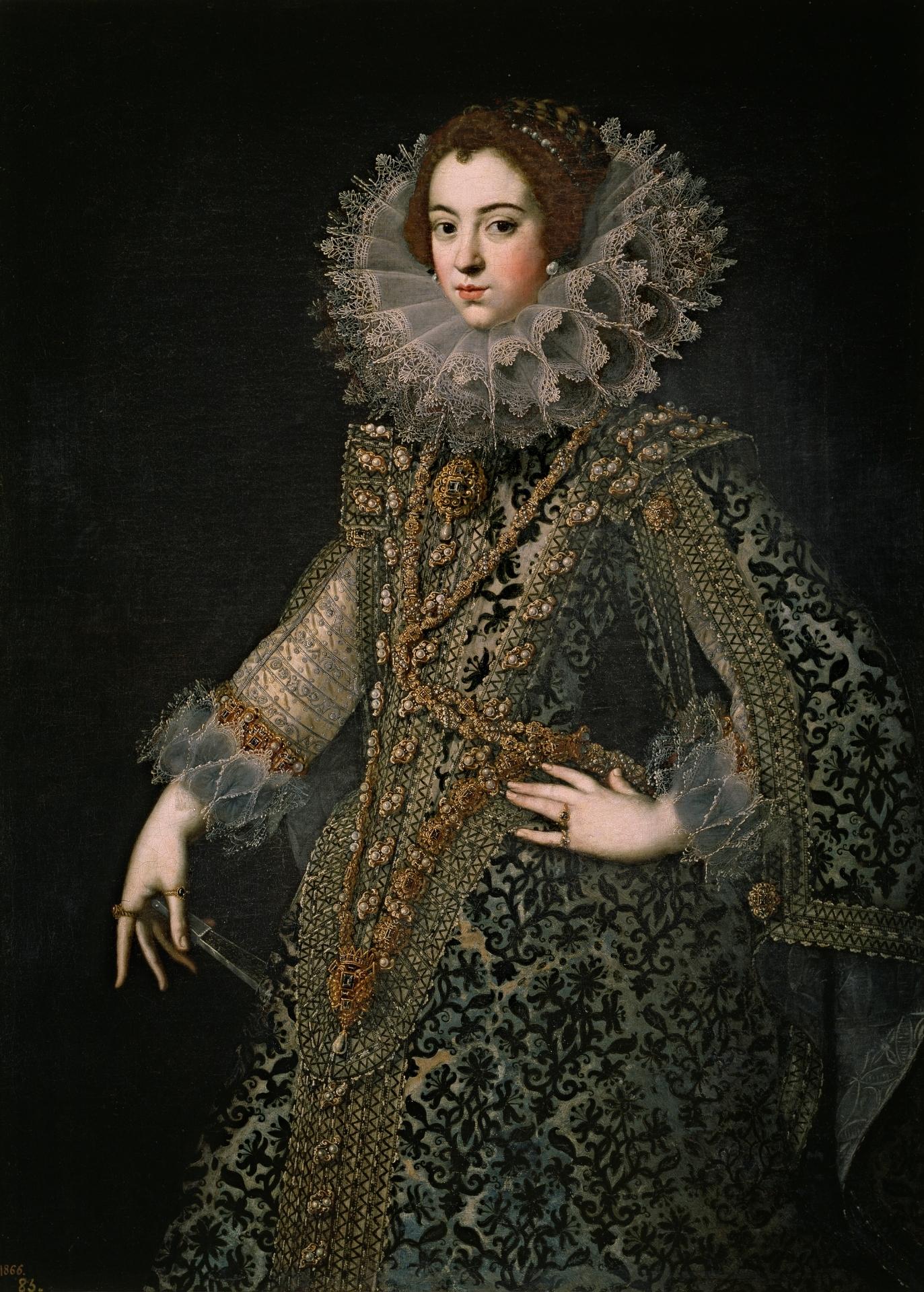 Isabel de Borbón, reina de España, primera esposa de Felipe IV ...