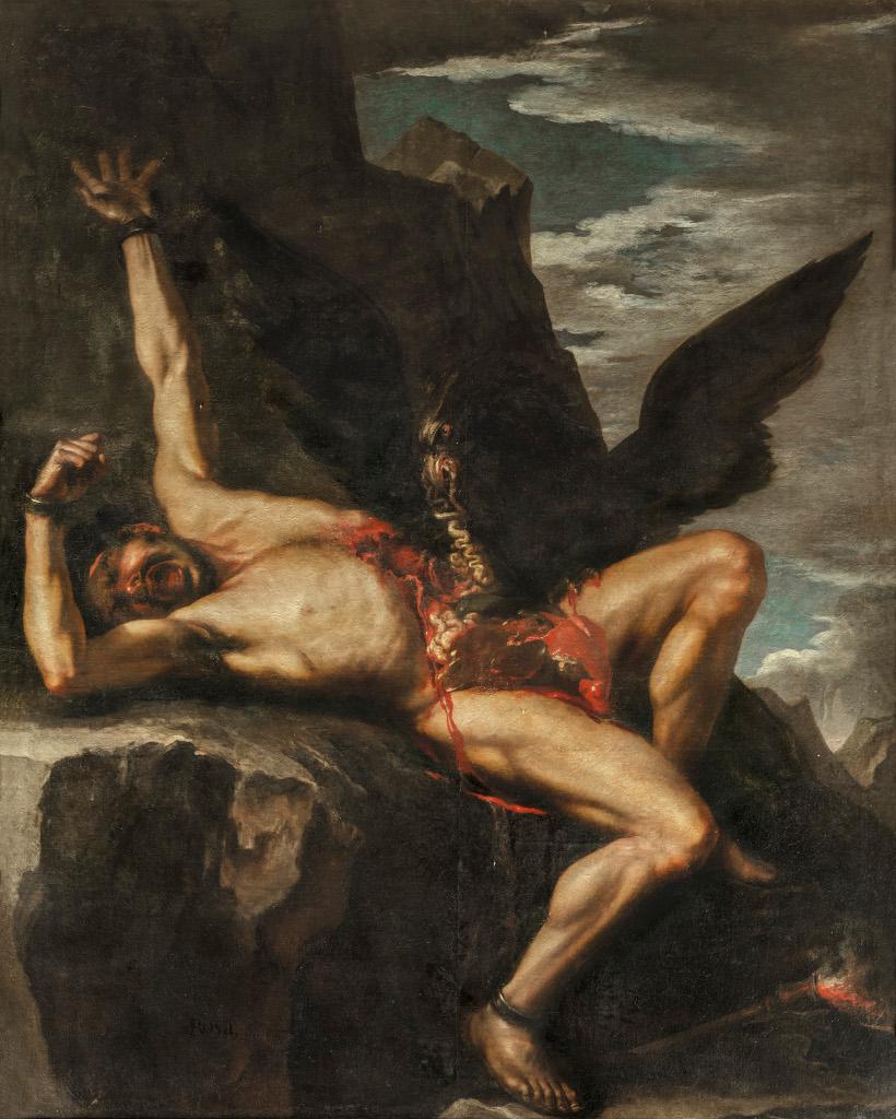 Exposición Las Furias. De Tiziano a Ribera
