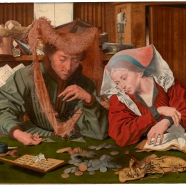 The Tax Collector and his Wife or The Money Changer and his Wife