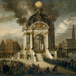 Christ the Redeemer Procession in Antwerp, 27 August 1685