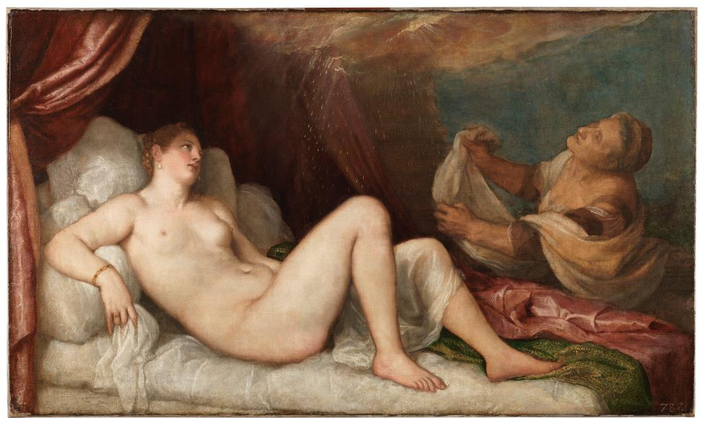 "The Museo del Prado presents ""Danaë and Venus and Adonis: Titian's Early Poesie for Philip II"""