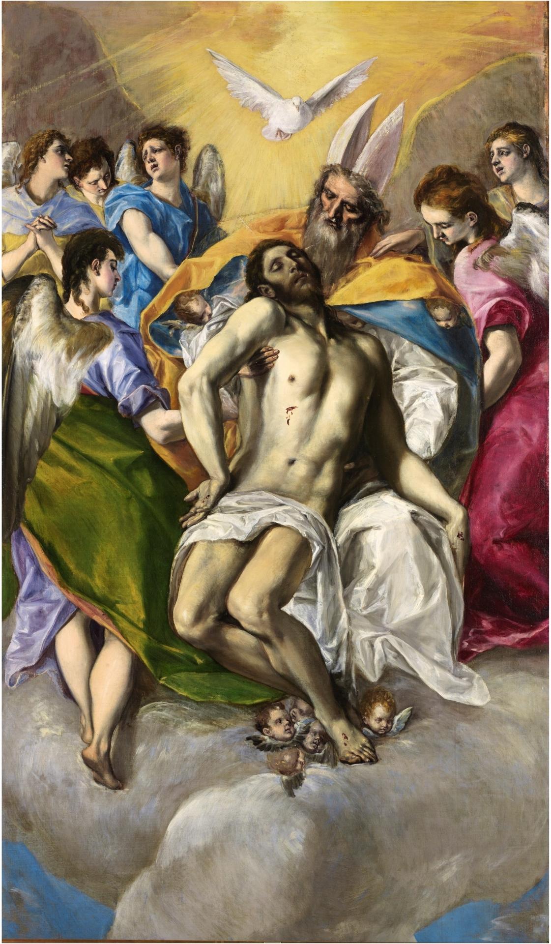 The Holy Trinity - The Collection - Museo Nacional del Prado