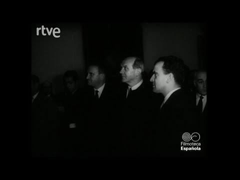 El secretario de estado de EEUU, Dean Rusk, visita el Museo del Prado