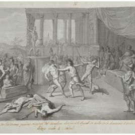 Lucha de gladiadores