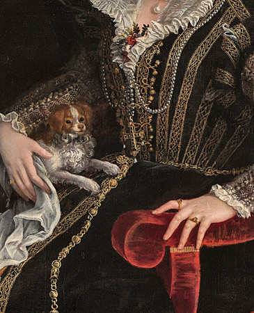 La moda cortesana vista por dos pintoras