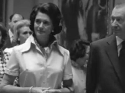 Kurt Waldheim visita el Museo del Prado