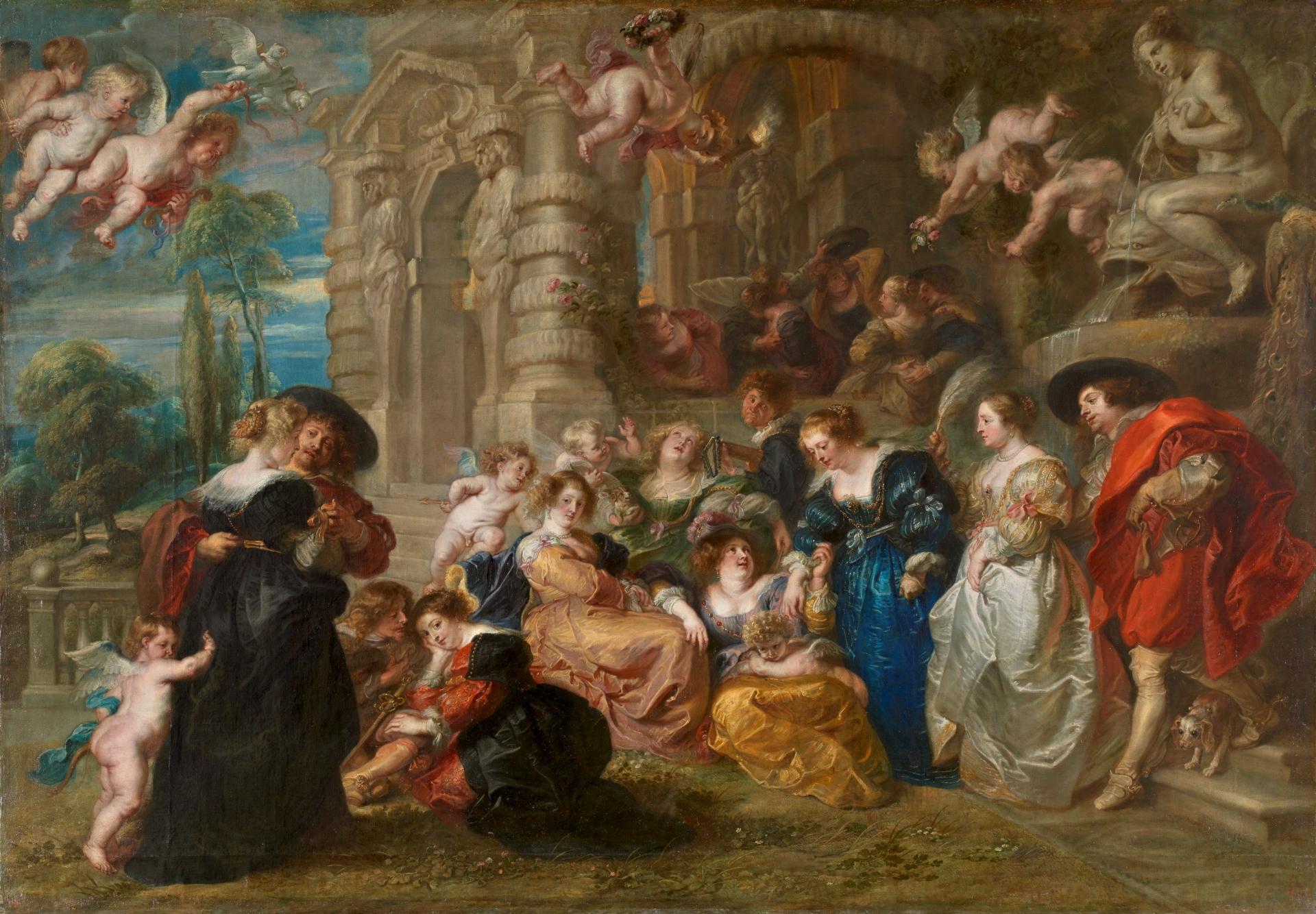 The Garden of Love - The Collection - Museo Nacional del Prado