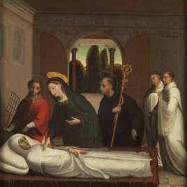 Muerte de San Bernardo
