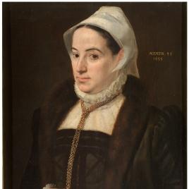Retrato de una mujer de 35 años