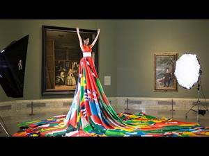 Amsterdam Rainbow Dress Foundation en el Museo Nacional del Prado