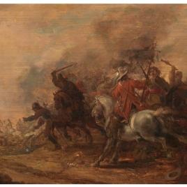 Choque de caballería