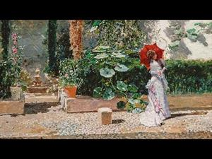 "Discovering the collection: ""The Garden of the Fortuny Residence"", by Fortuny and Madrazo"