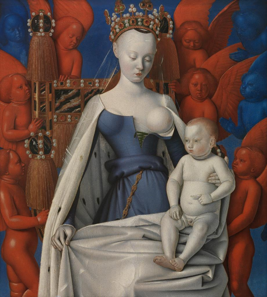 The Museo del Prado is exhibiting The Virgin and Child with Angels by Jean Fouquet, on display for the first time in Spain