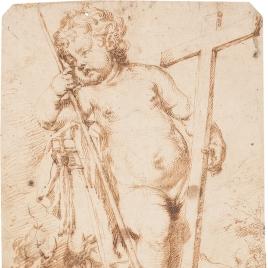 El Niño Jesús con los instrumentos de la Pasión