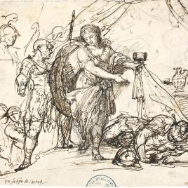 Jael y Sísara / Cuatro escenas de tipo histórico