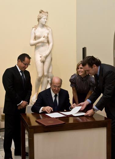El Museo del Prado y el Museo de Arte de Ponce de Puerto Rico suscriben un convenio para la próxima presentación en el Prado de una  importante selección de pintura británica del siglo XIX procedente del museo puertorriqueño