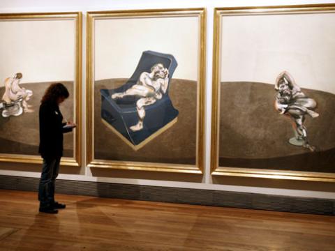 El público ya puede disfrutar de la obra de Francis Bacon en el Museo del Prado