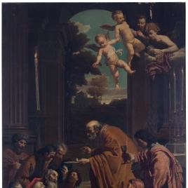 Última comunión de san Jerónimo o El viático de san Jerónimo