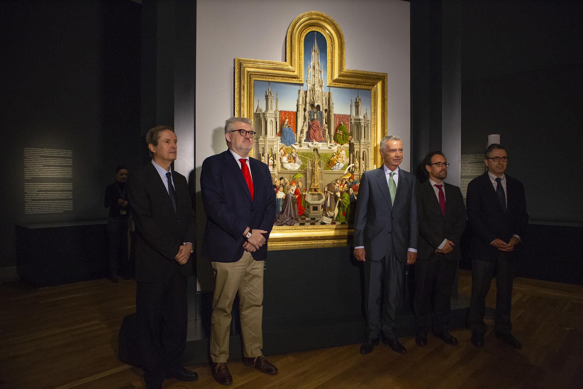 El Museo del Prado y la Fundación Iberdrola España presentan la restauración de La Fuente de la Gracia