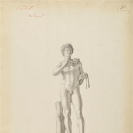 """Mercurio, variante del """"Hermes Andros-Farnese"""""""