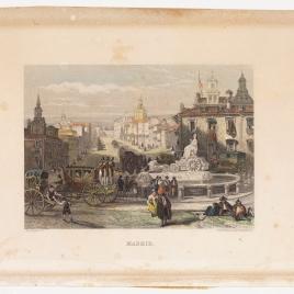 Vista de la calle Alcalá desde la plaza de Cibeles