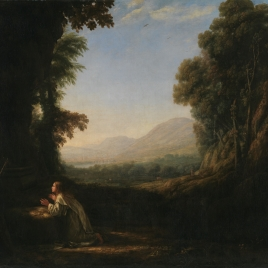 Landscape with the Burial of Saint Serapia - The Collection