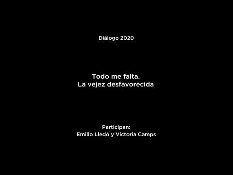 """Diálogo """"Solo la voluntad me sobra"""": Emilio Lledó y Victoria Camps"""