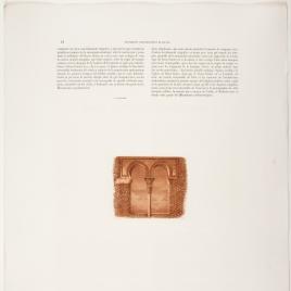 Página de texto sobre el Cristo de la Luz de Toledo, ilustrada con el vano del ajimez de San Ginés