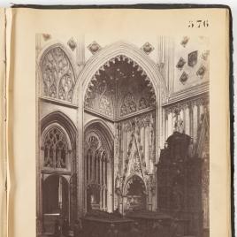 Capilla y sepulcros de don Álvaro de Luna y de su esposa, doña Juana de Pimentel, en la Catedral de Toledo.