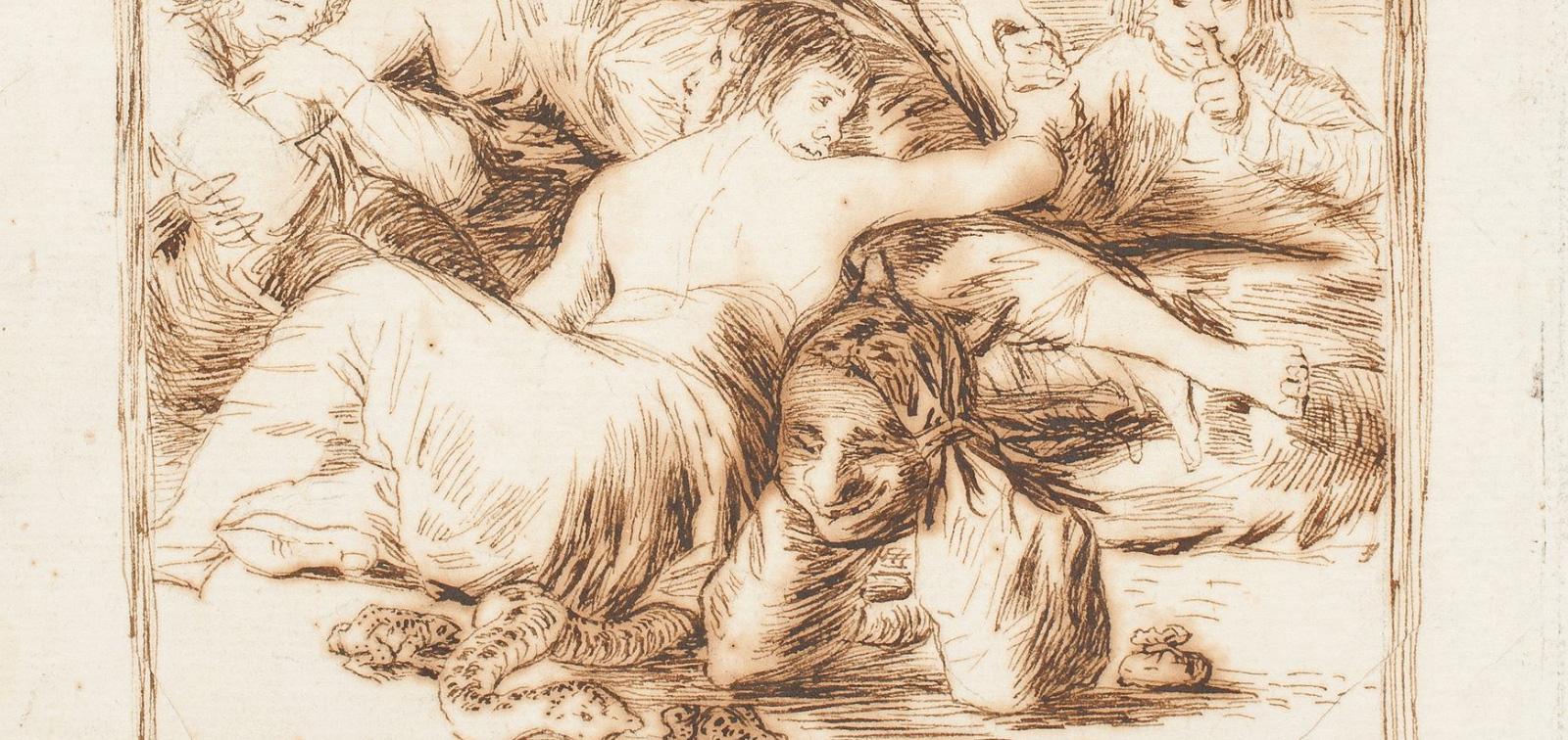 Goya. The Butterfly Bull