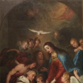 La Aparición de la Virgen a Simón de Rojas