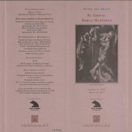 El Greco : obras maestras / Amigos del Museo del Prado.