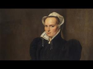 """Descubriendo la Colección: """"Retrato de mujer sentada"""", de Antonio Moro"""