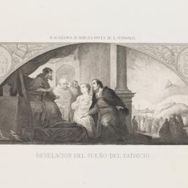 Fundación de Santa María Maggiore de Roma. El patricio revela su sueño al papa Liberio