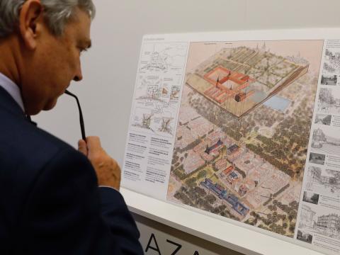 Norman Foster, arquitecto de la nueva ampliación del Museo del Prado